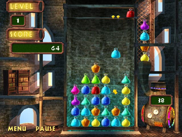 Magic Drop Free PC Game Screenshot