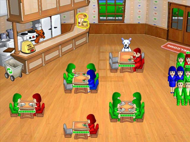 PC Milky Bear: Lunch Frenzy  Free Game