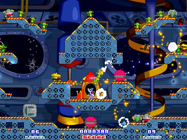Milky Bear: Rescue Rocket Free PC Game Screenshot