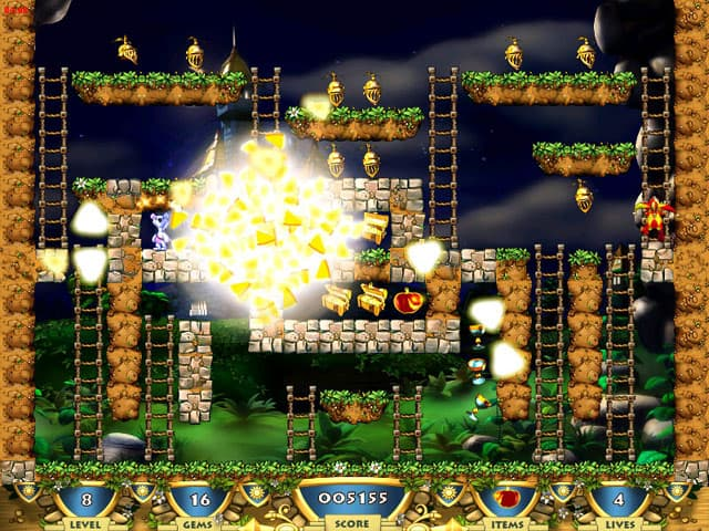 Milky Bear: Riches Rider 3 Free PC Game Screenshot