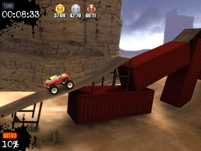 Monster Truck Challenge Free PC Game Screenshot