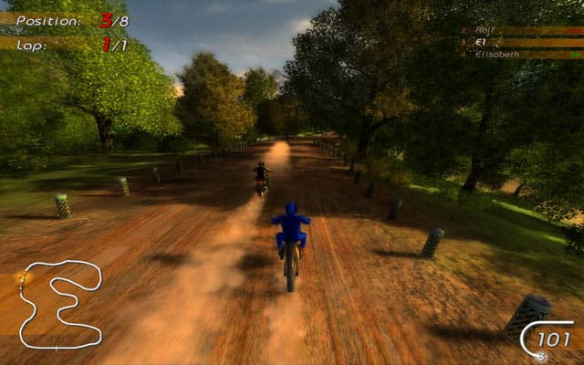 Motoracing Free PC Game Screenshot