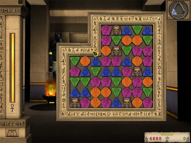 Mummy Puzzle Free PC Game Screenshot