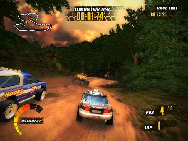 Offroad Racers Free PC Game Screenshot