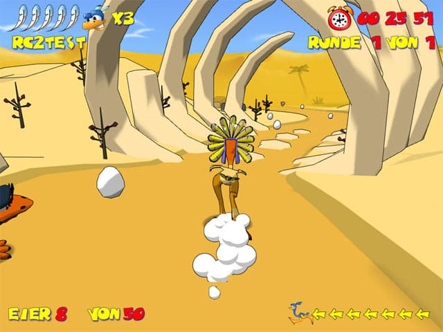 Ostrich Runners Free Game Downloads