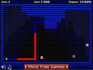 Pacxon 2 Free Game