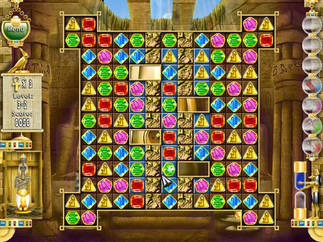 Pharaoh Puzzle Free PC Game Screenshot