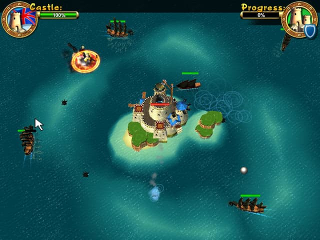 Pirates: Battle for Caribbean Free PC Game Screenshot