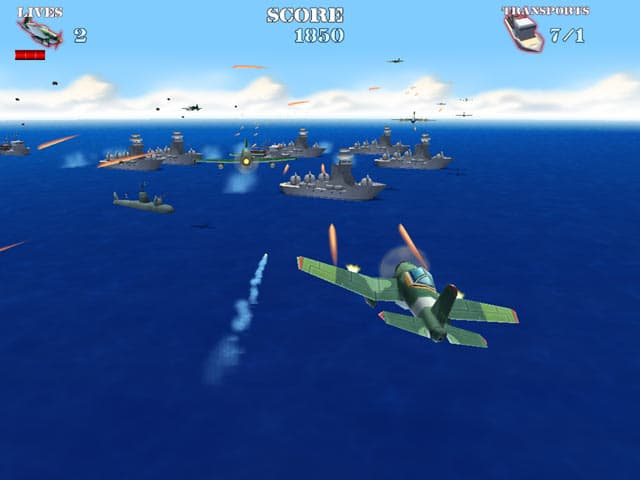 Naval Strike Free PC Game Screenshot