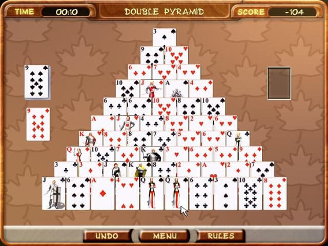 Pyramid Solitaire Free PC Game Screenshot