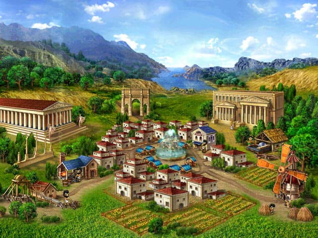 Rome Puzzle Free PC Game Screenshot