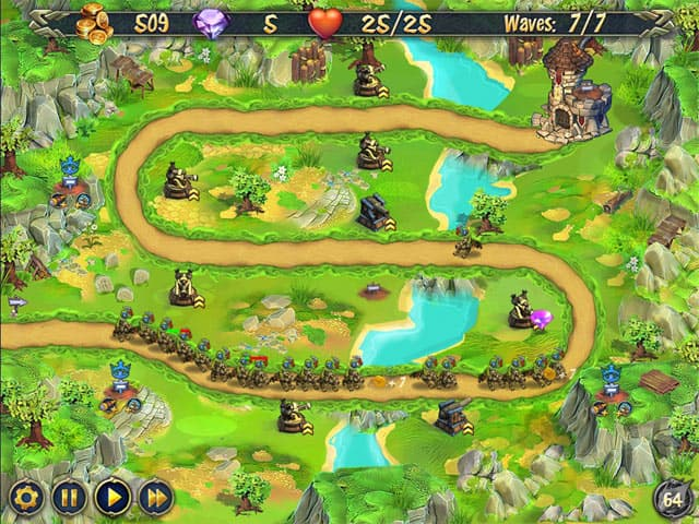 Royal Defence Free PC Game Screenshot