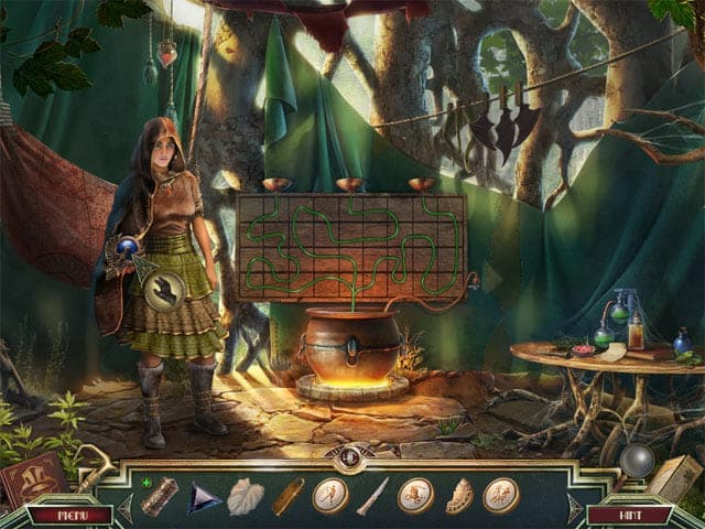 Sacred Almanac: Traces of Greed Screenshot 2