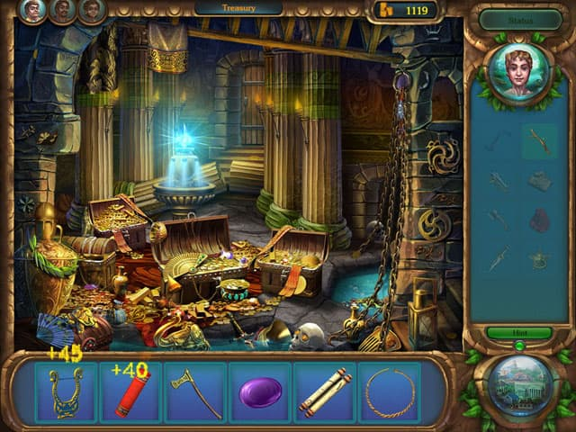 Secrets of Rome Free PC Game Screenshot