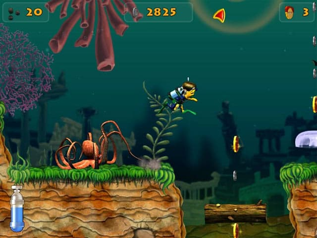 Shark Attack Free PC Game Screenshot