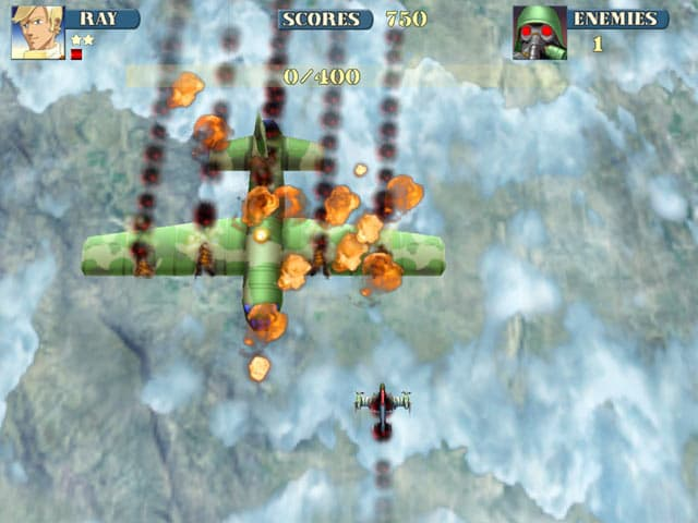 Sky Fire Free PC Game Screenshot