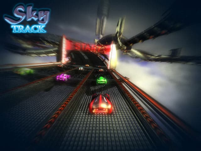 Sky Track Free PC Game Screenshot