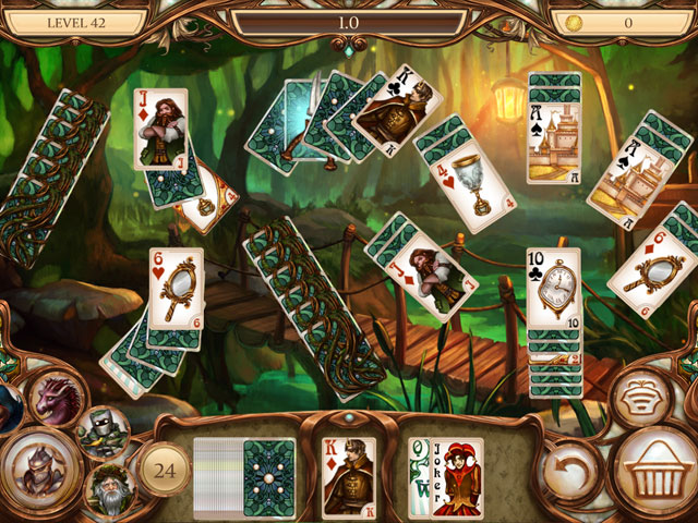 Snow White Solitaire: Charmed Kingdom Screenshot 1