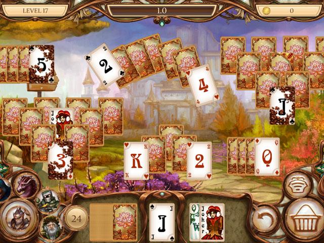 Snow White Solitaire: Charmed Kingdom Screenshot 2