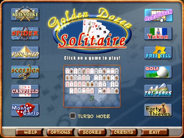 Solitaire Free PC Game Screenshot