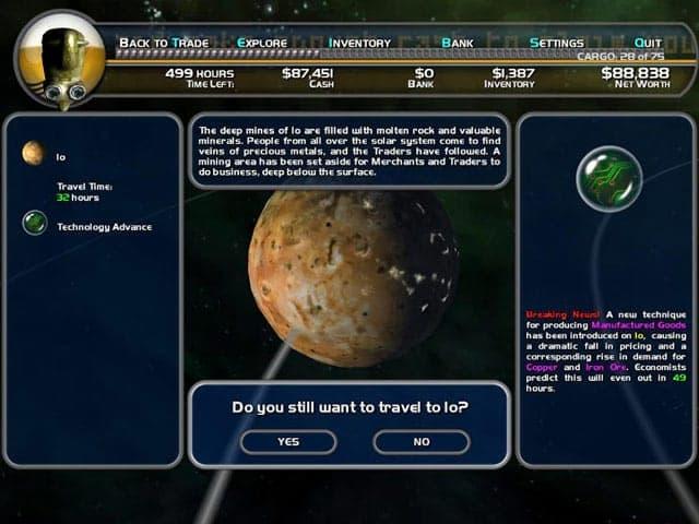 Space Trader Screenshot 1