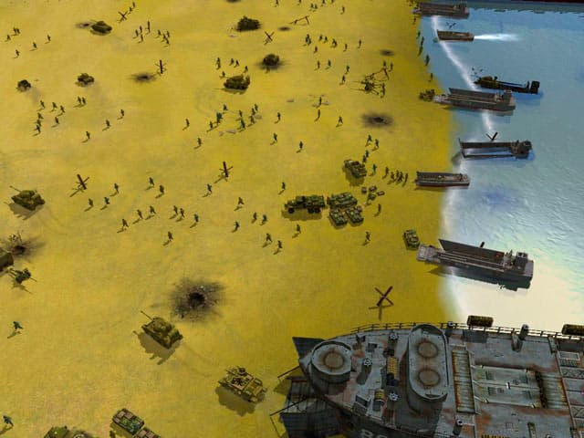 Sudden Strike: Normandy Free PC Game Screenshot