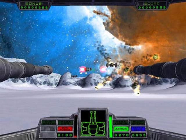 Star Gunner Free PC Game Screenshot