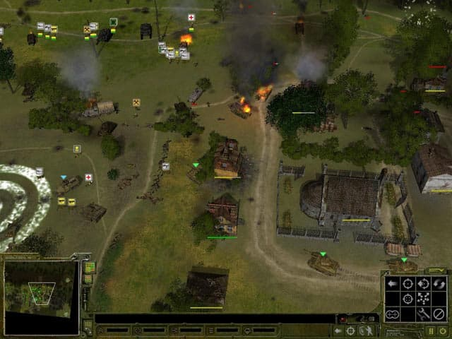 Sudden Strike: Crimea Free PC Game Screenshot