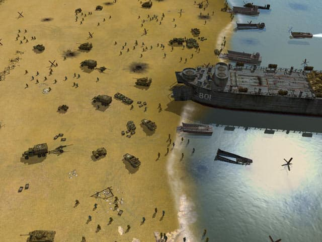 Sudden Strike: Iwo Jima Free PC Game Screenshot