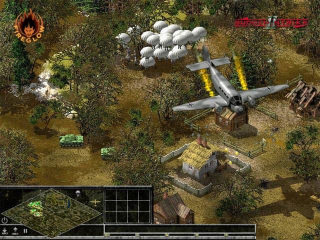 Sudden Strike 2 Free PC Game Screenshot