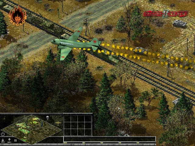 Sudden Strike 2 Free PC Game Screenshot