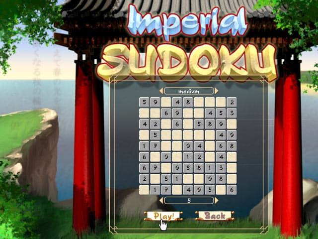 Sudoku Free PC Game Screenshot