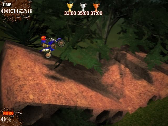 Super Motocross Deluxe Free PC Game Screenshot
