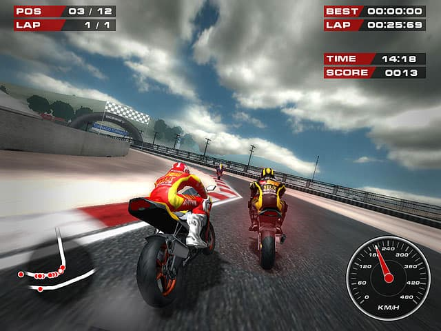 Bike Racing Games Free Download Super Bikes Screenshot