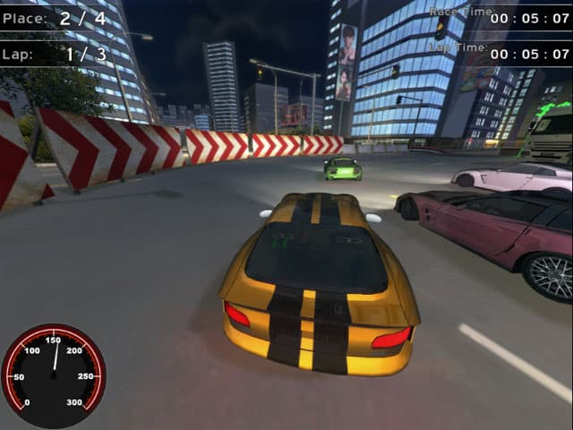 Supercars Racing Free PC Game Screenshot