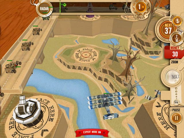 Tabletop Defense Free PC Game Screenshot
