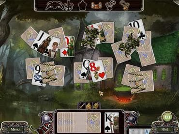 The Far Kingdoms: Sacred Grove Solitaire Free Game
