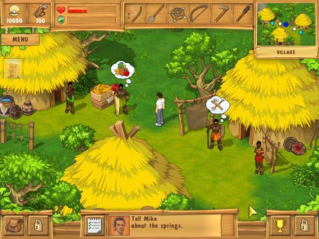 The Island: Castaway Free PC Game Screenshot