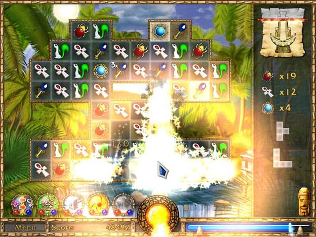 Treasure Puzzle Free PC Game Screenshot