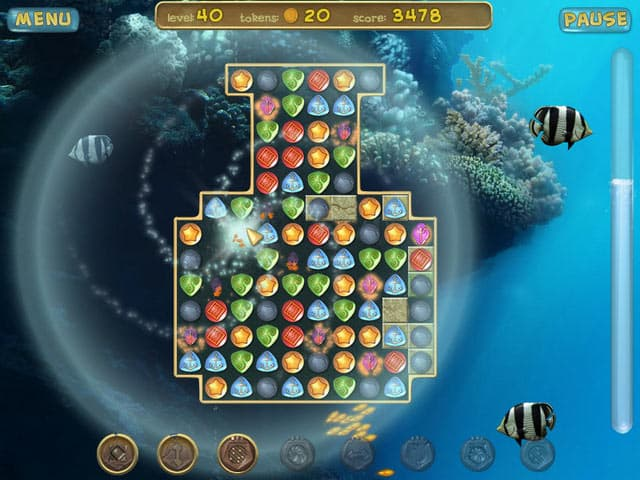 Underwater Puzzle Free PC Game Screenshot