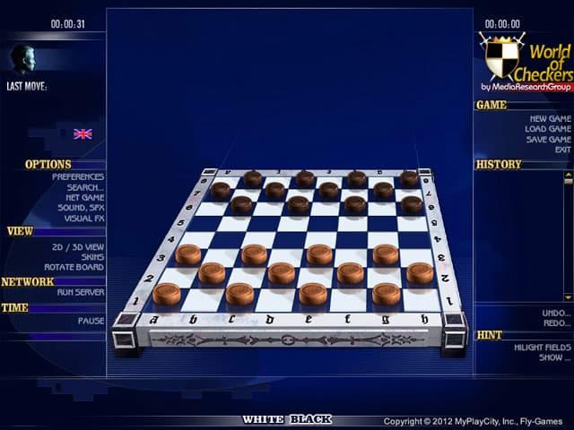 World of Checkers Screenshot 1