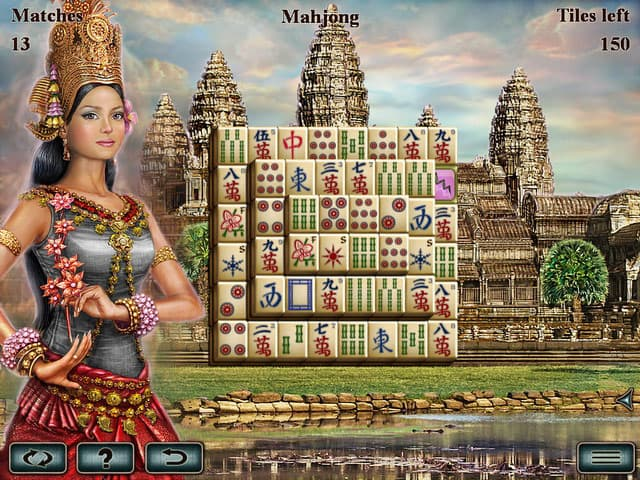 Greatest Temples Mahjong Free PC Game Screenshot