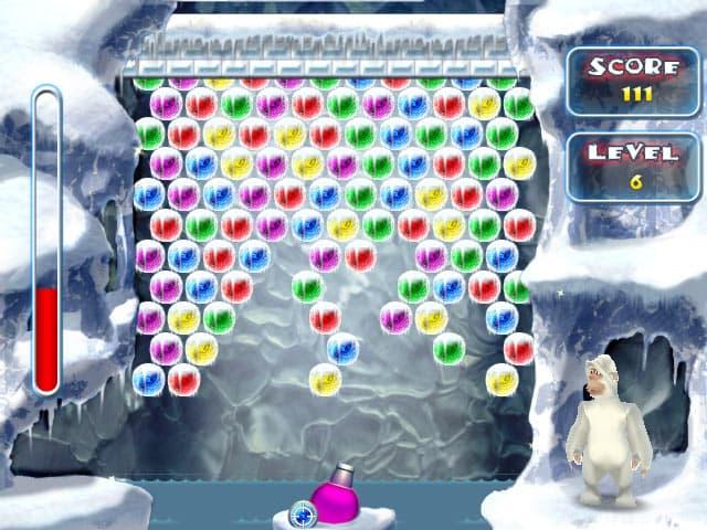 Yeti Bubbles Free PC Game Screenshot