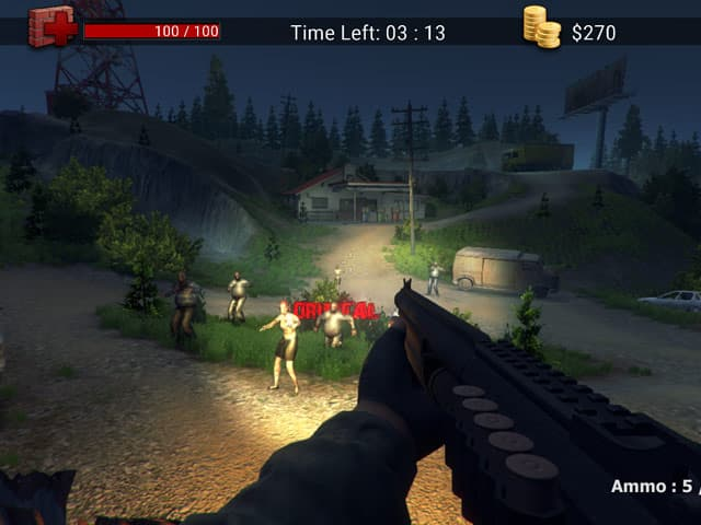 Screenshot of Zombie Apocalypse
