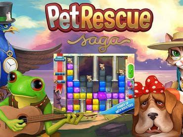 Pet Rescue Saga Free Game