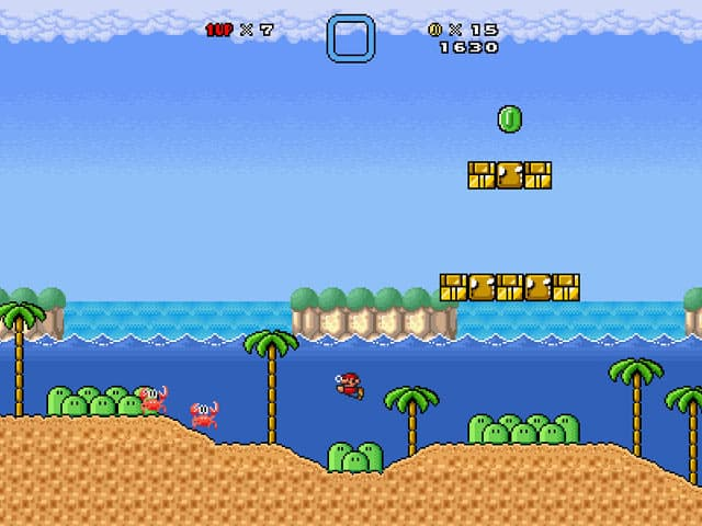 Super Mario Bros Free PC Game Screenshot