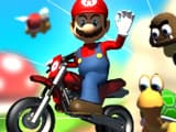 Mario Bike Recha..Kill All Zombies Online Game