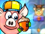 Piggy Wiggy Seas..  Free Online Game