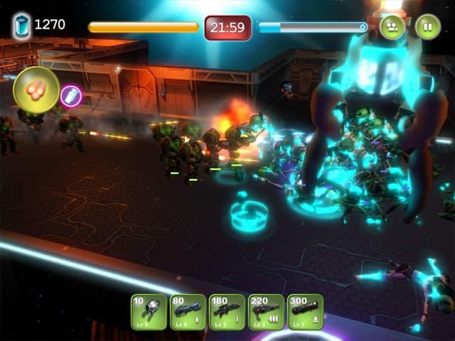 Alien Hallway Screenshot 1