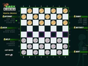 Easy Checkers Free Game